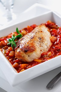 Pan Seared Chicken In Creole Sauce Eat Well