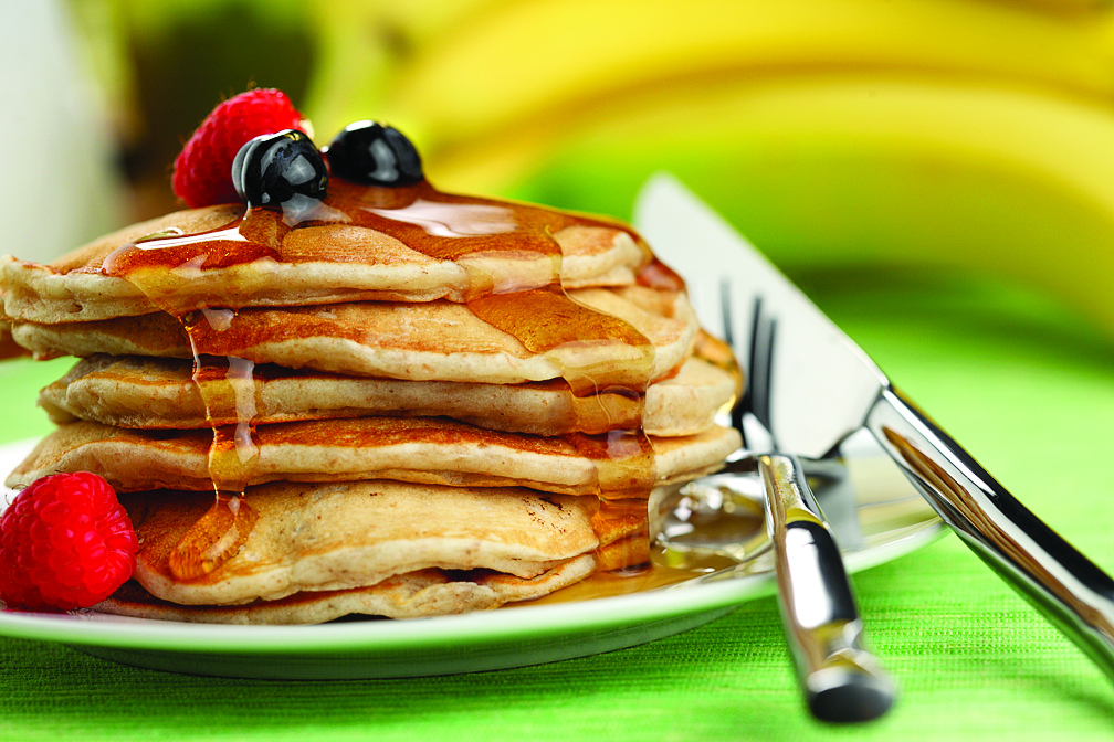 Family Favourite Pancakes | www.canolaeatwell.com