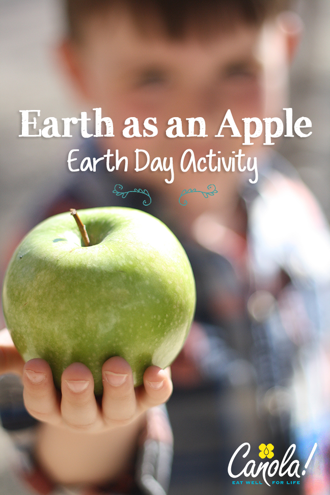 Earth as an Apple Earth Day Activity