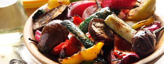 Grilled Vegetables | www.canolaeatwell.com