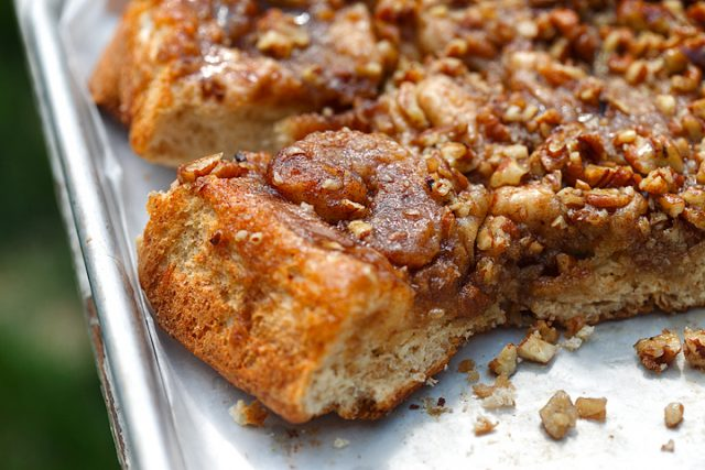 Caramel Pecan Cinnamon Love Buns are in the Air