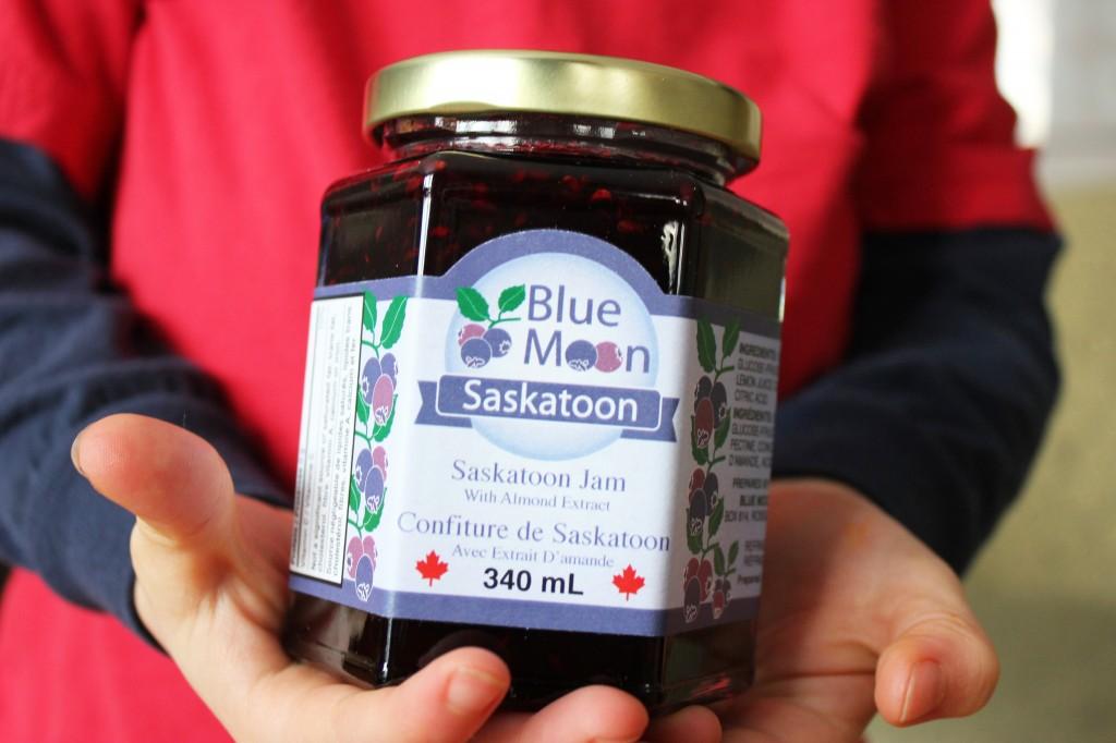 Blue Moon Saskatoon Jam