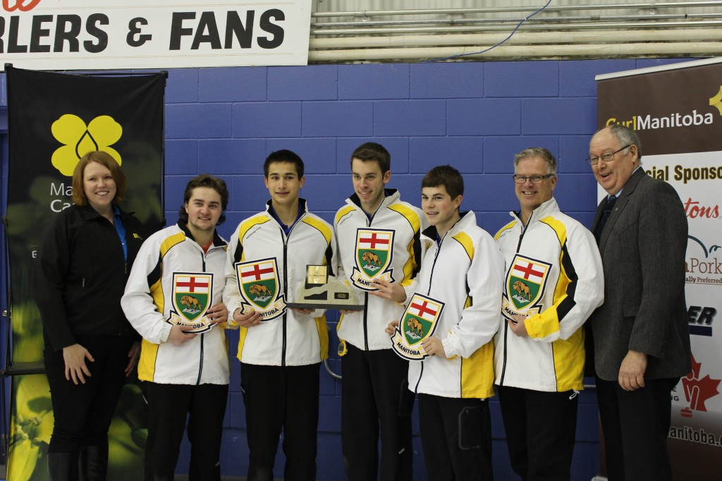 Canola Junior Curling Championships - Team Dunstone