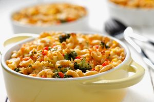 Healthy Polka Dot Mac and Cheese