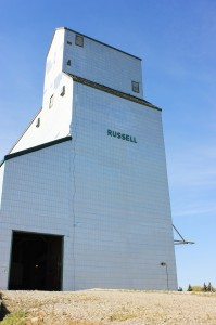 Russell Grain Elevator