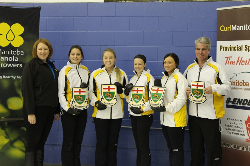 Canola Jurnior Women Curling Champs 2013