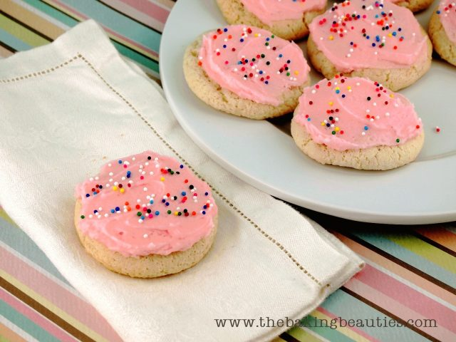Gluten Free Sour Cream Sugar Cookies