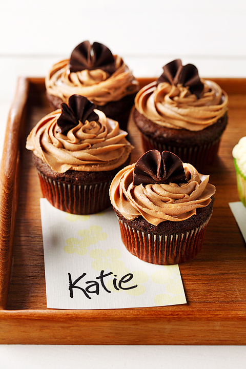 Chocolate Stout Cupcakes with Mocha Frosting