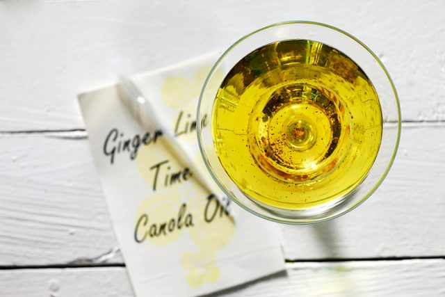 Ginger Lime Time Canola Oil