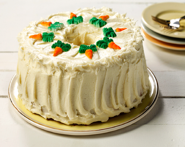 Pineapple and Carrot Chiffon Cake