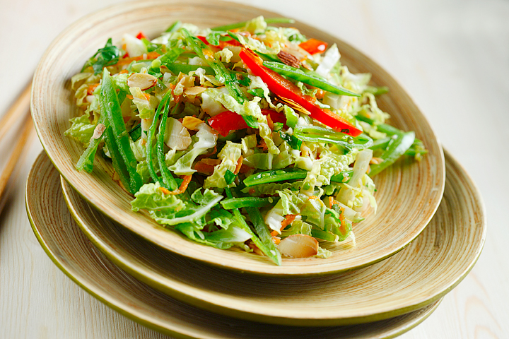 Asian-Style Cabbage Slaw – Eat Well