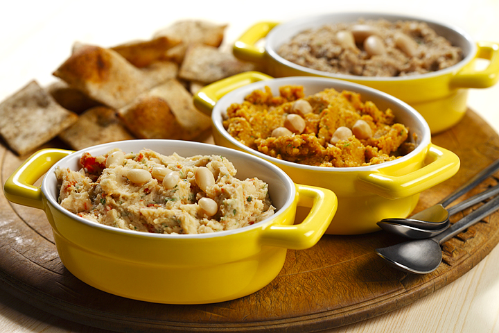 Chipotle Garbanzo Bean Dip