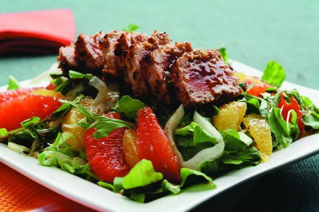 Citrus Tuna Salad