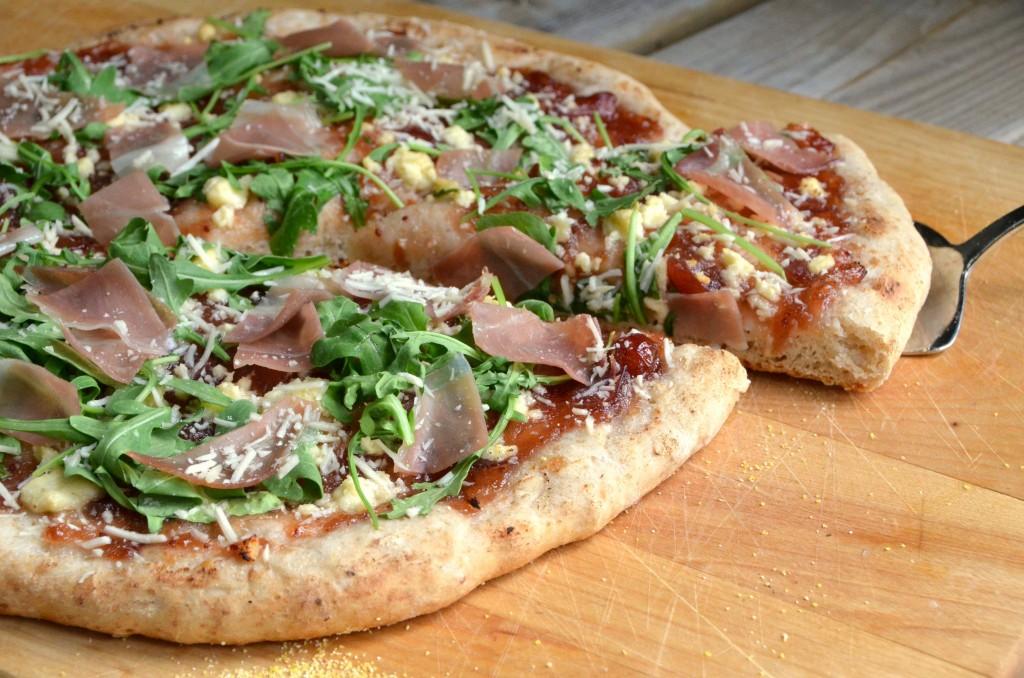 Homemade Proscuitto Pizza | www.canolarecipes.ca