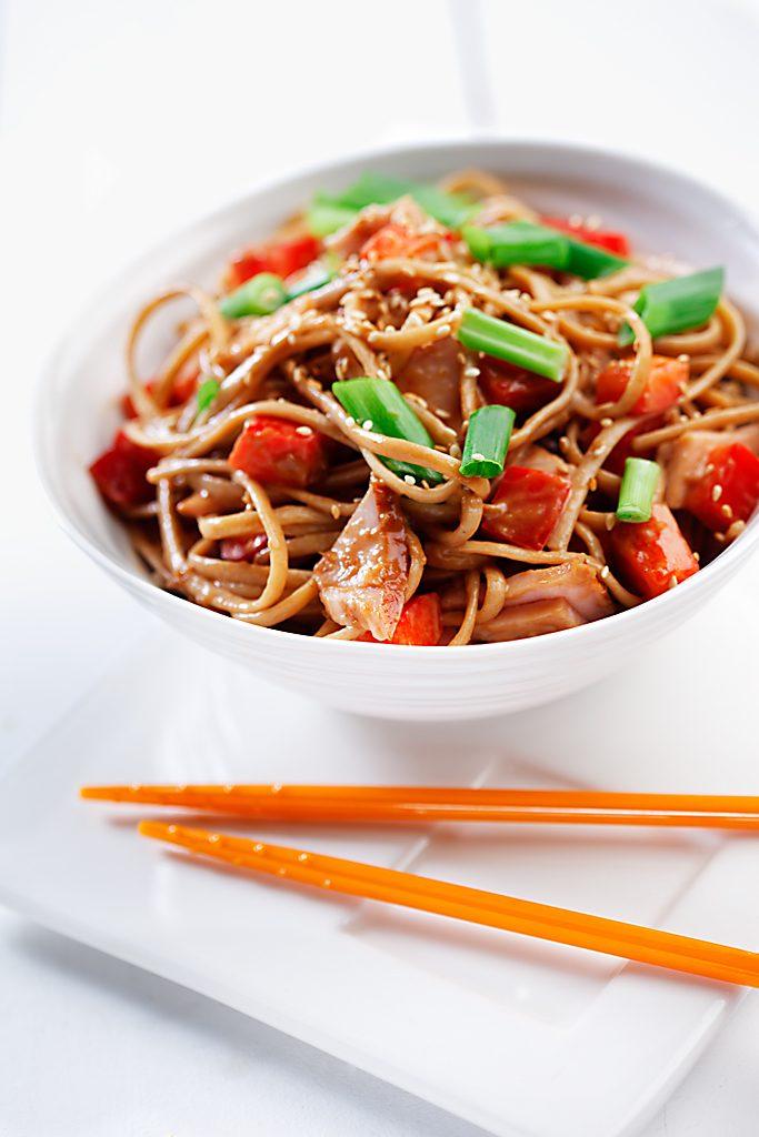 Asian-Style Noodle Salad