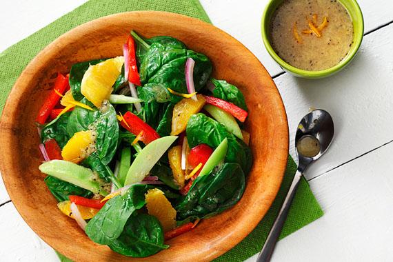 Crisp Salad with Chayote and Orange