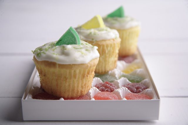 Lemon-Lime Cupcakes with Citrus Cream Cheese Frosting