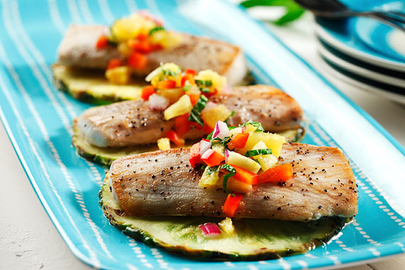 Mahi-Mahi with Pineapple Salsa