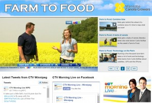 CTV Farm to Food | www.canolaeatwell.com