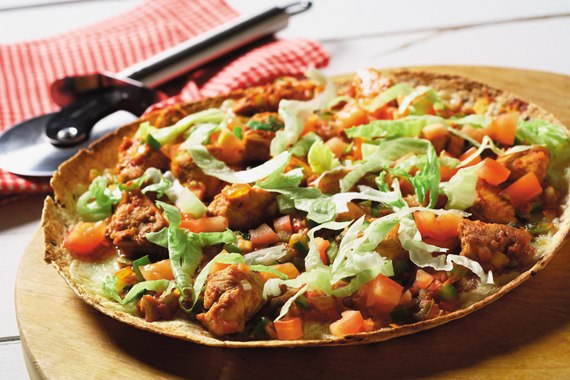 Grilled Mexican Chicken Pizza