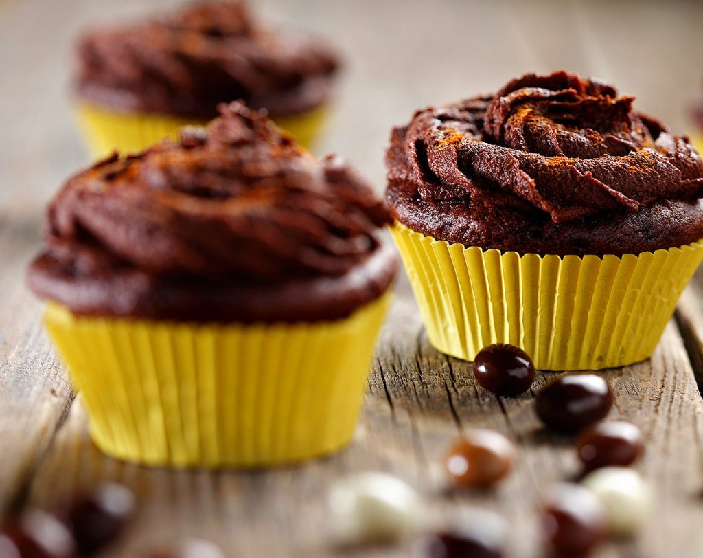 Mexican Hot Chocolate Cupcakes – Eat Well