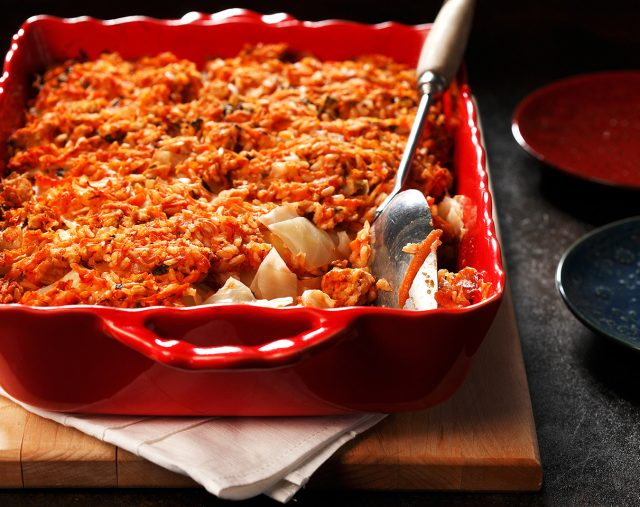 Carefree Cabbage Roll Casserole