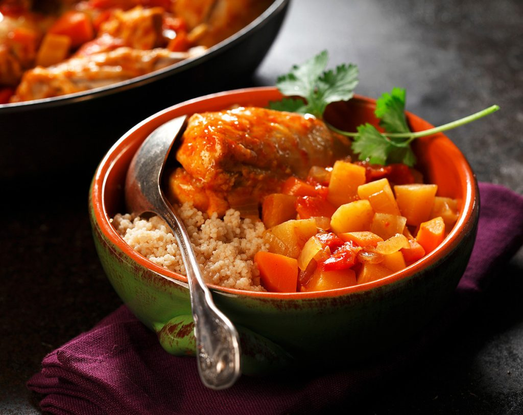 Chicken Curry with Carrots and Rutabaga