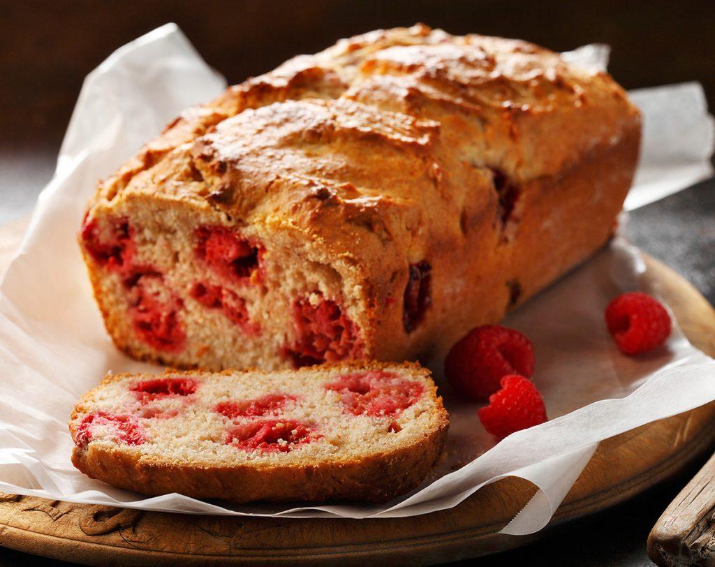Lemon Raspberry Quick Bread