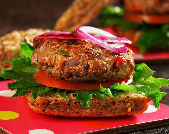 Mini Beef and Lentil Sliders