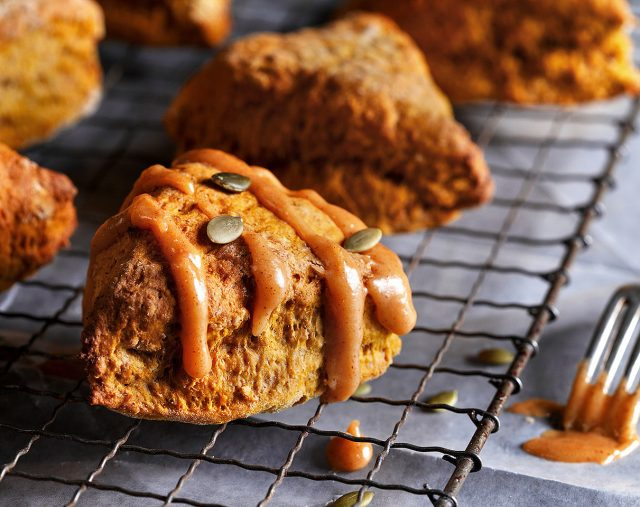 Pumpkin Pie Scone