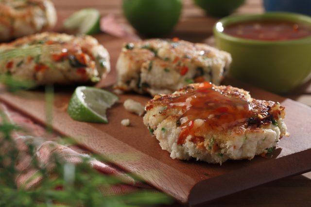 Pickerel Fish Cakes