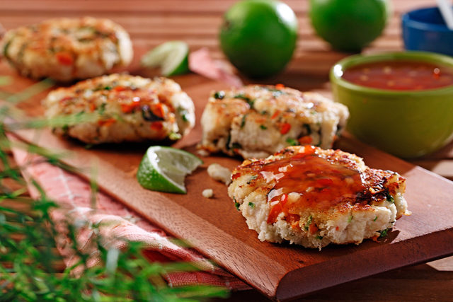 Thai White Fish Cakes