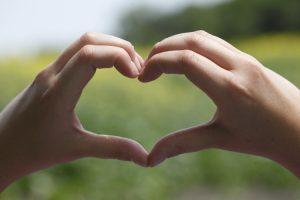 Heart Hands Canola Field | www.canolaeatwell.com