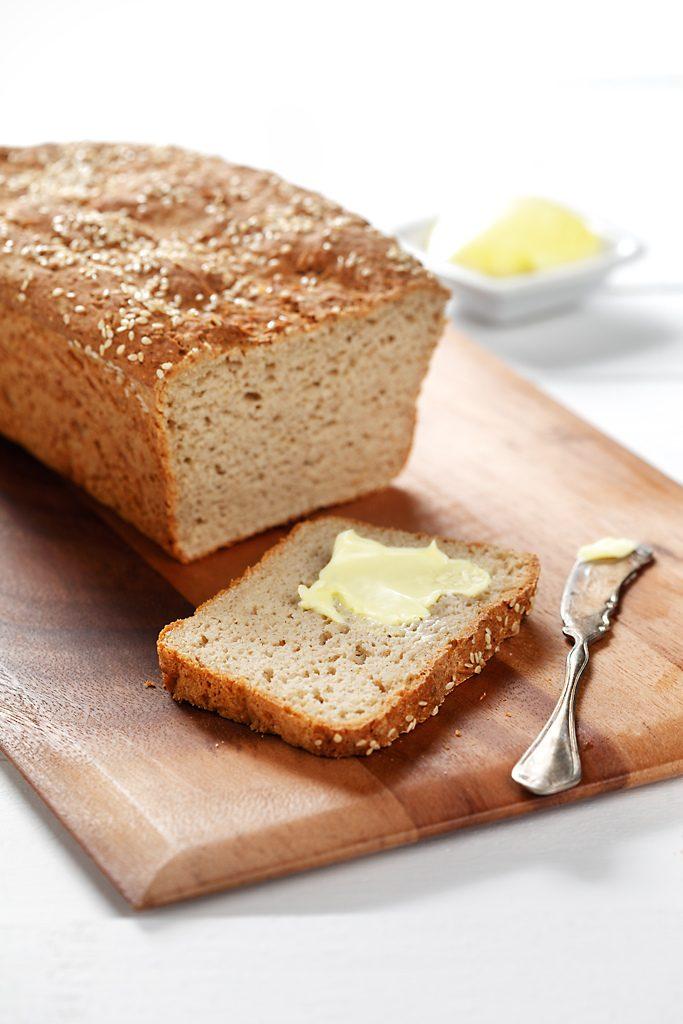 Gluten Free Sesame Bread