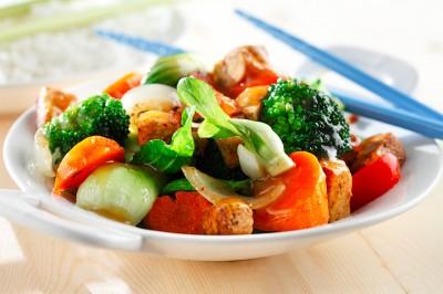 Tofu Black Bean Stir-fry