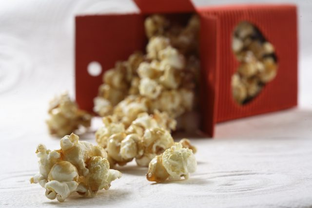 Maple Caramel Popcorn