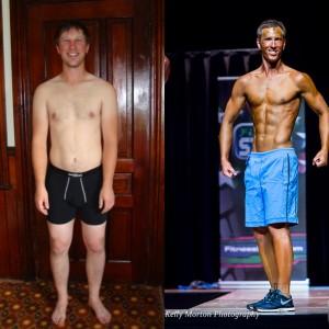 Simon Ellis Fitness Journey | www.canolaeatwell.com