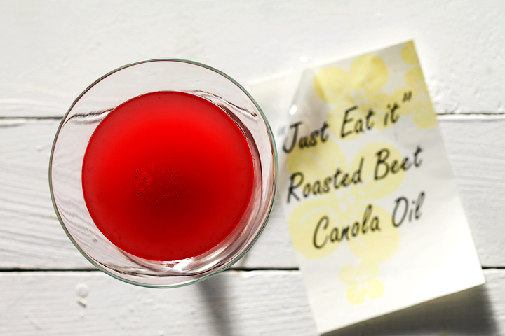 """Just Eat It"" Roasted Beet Canola Oil"