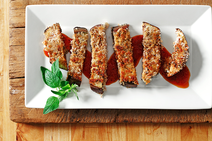 Crispy Eggplant Slices