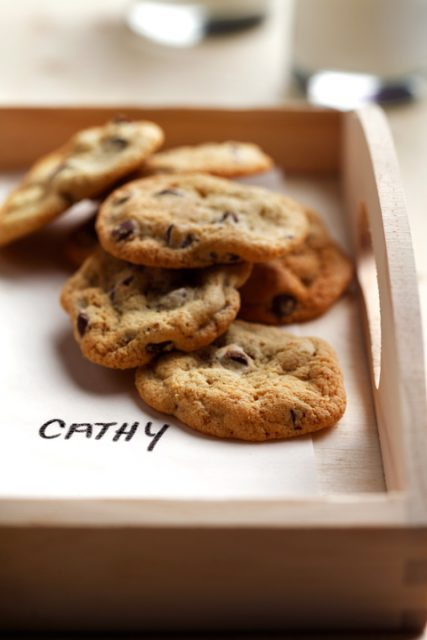 Crispy Quinoa Chocolate Chip Cookies