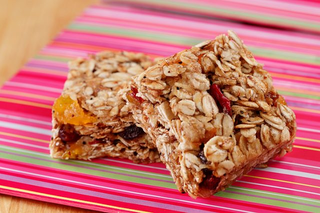 Quick Granola Bars