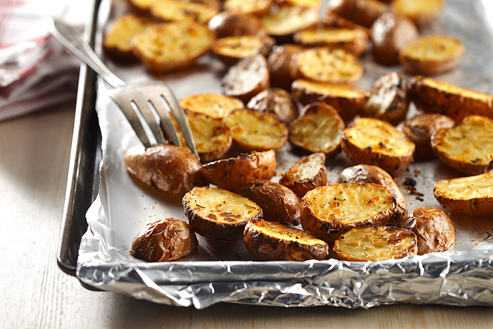 Roasted Lemon and Rosemary Potatoes
