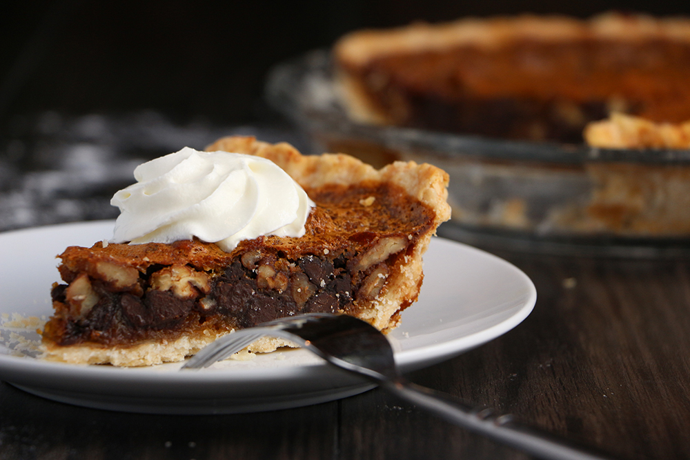 Bourbon Chocolate Pecan Pie – Eat Well