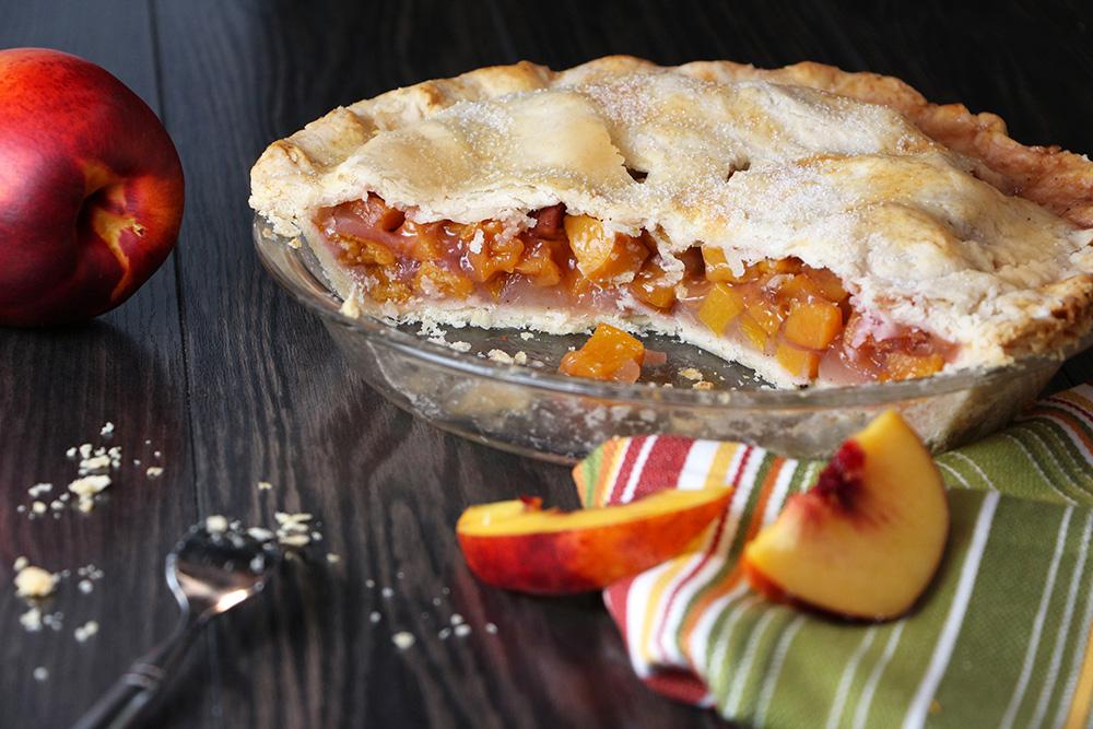 Nectarine Pie