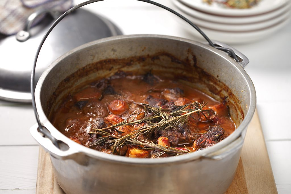 Braised Beef and Vegetable Stew