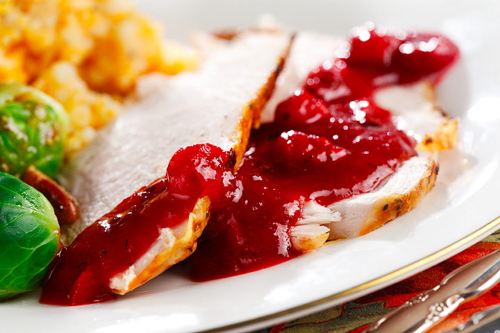 Sweet Maple Cranberry Sauce
