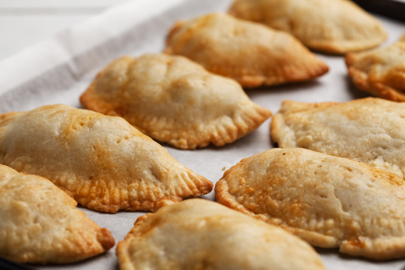 Baked Empanadas with Beef Filling