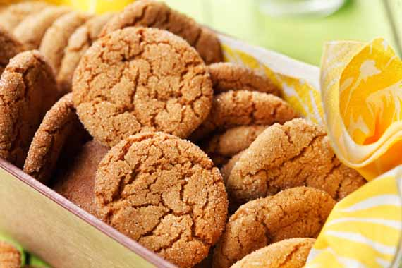 Betty's Gingersnaps