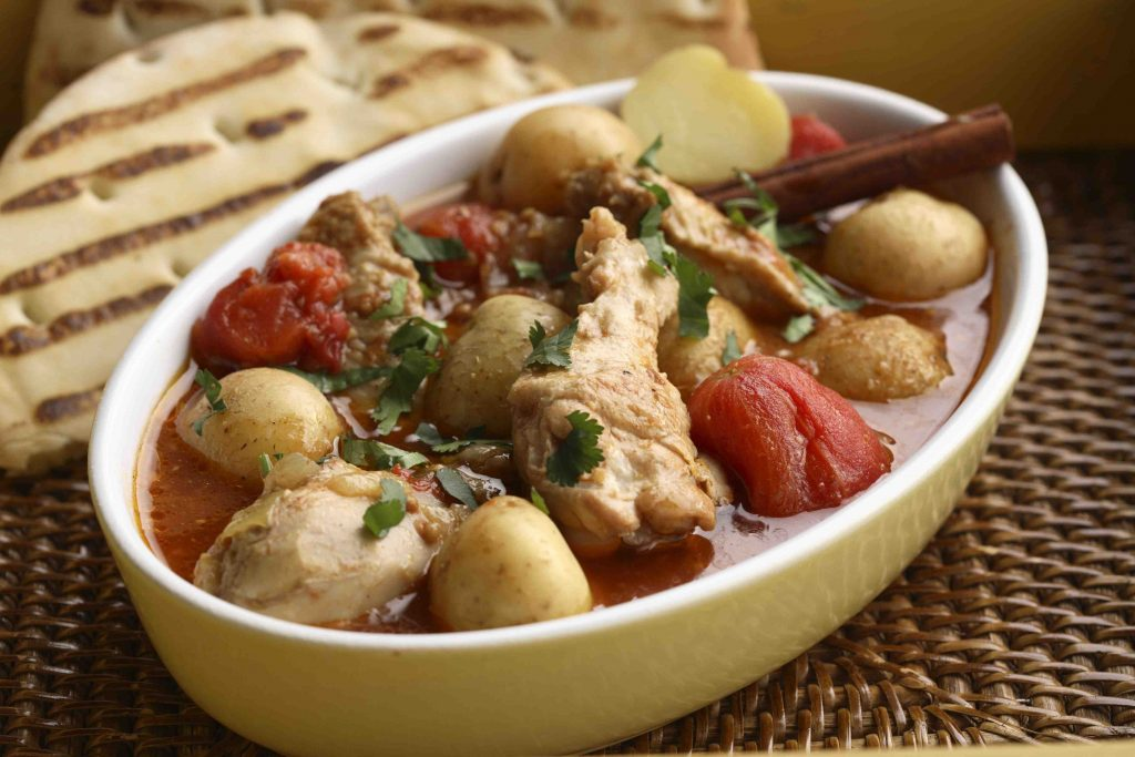 Easy Curried Chicken with Potatoes