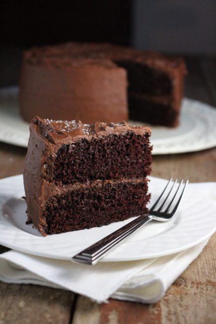 One-Pan Double Chocolate Cake